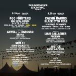 サマソニ2017セットリスト予想 Foo Fightersの日 メインステージアクト