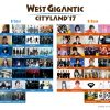 WEST GIGANTIC CITYLAND '17 全出演者とタイテ・写真付き会場マップ