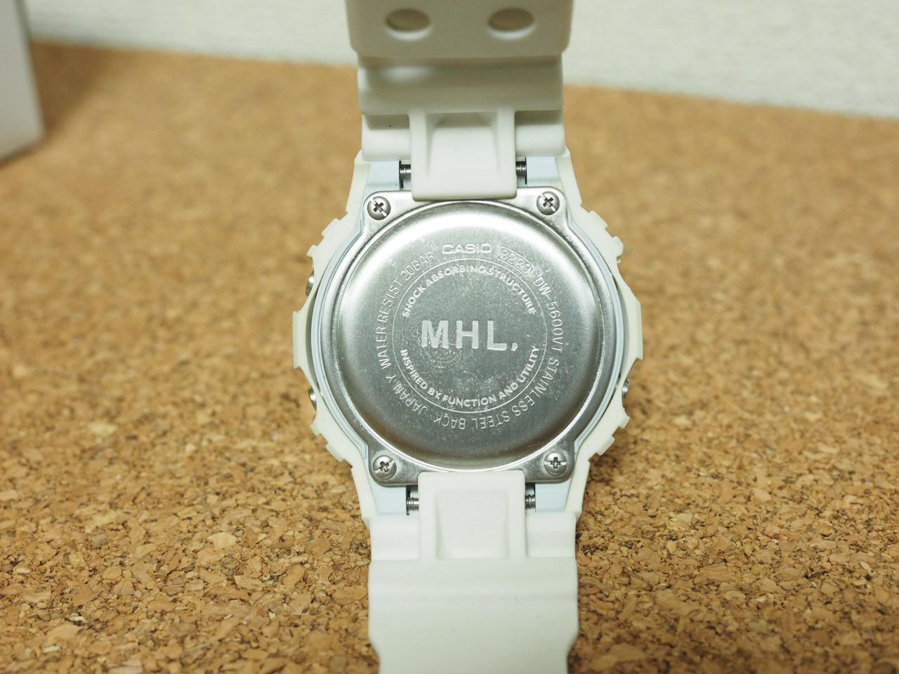 competitive price a3312 73b35 MHL×G-SHOCKコラボ(白)を購入して半年のレビュー 夏フェスおすすめ