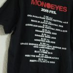 MONOEYES Dim The Lightsツアー2017 ZEPP 大阪2daysセトリ